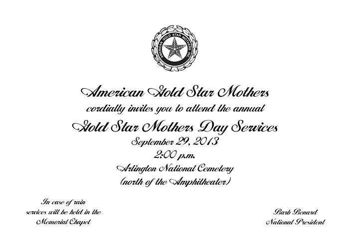 Gold star mothers invitation 2013 (2)